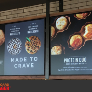 Starbucks DFW Indoor & Drive-Thru Menu Boards