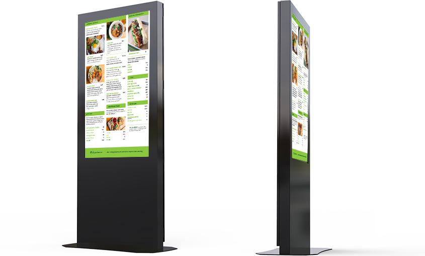 Digital Menu Kiosk