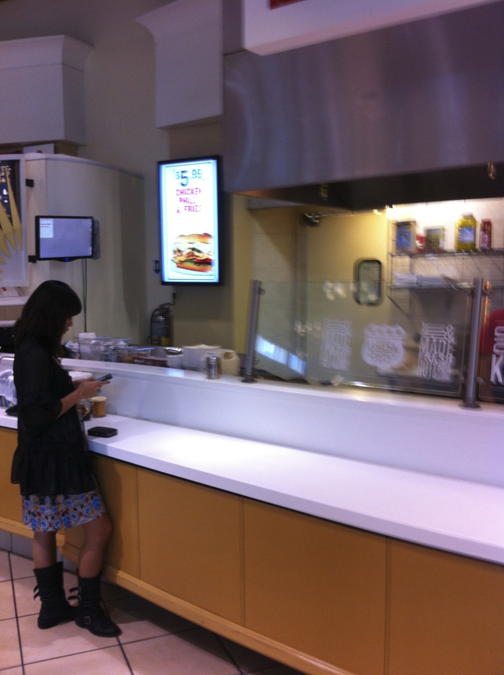 OSM Solutions installs point of purchase digital board at Charley's Grilled Subs International Mall Tampa