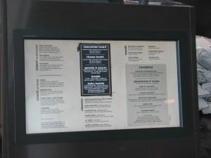 Touch Screen Digital Menu Board