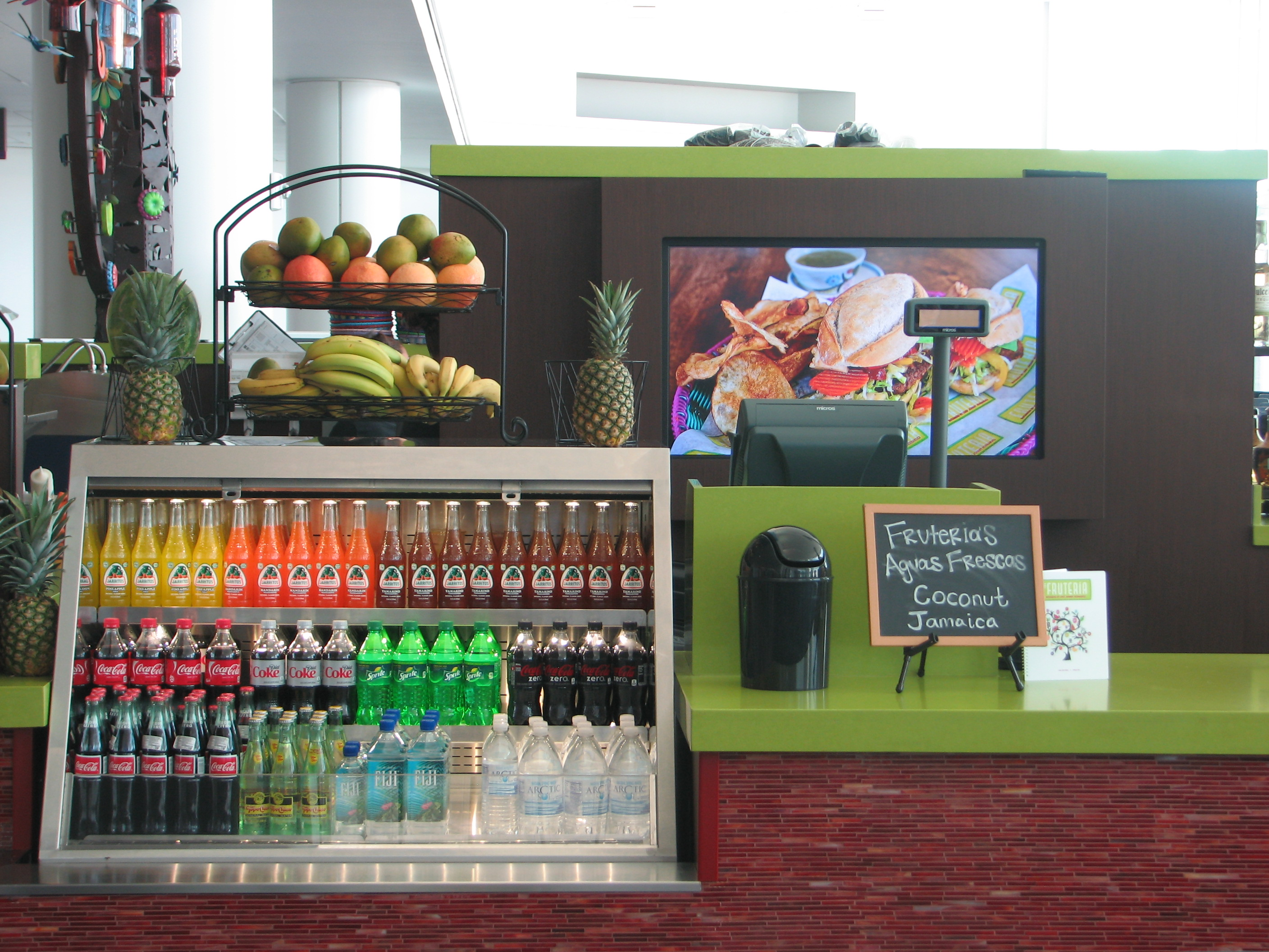 OSM Solutions Provides Digital Menu Board System at The Fruteria Houston IAH