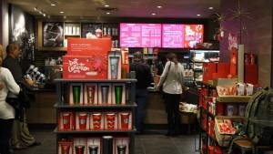 Starbucks Digital Menu Boards