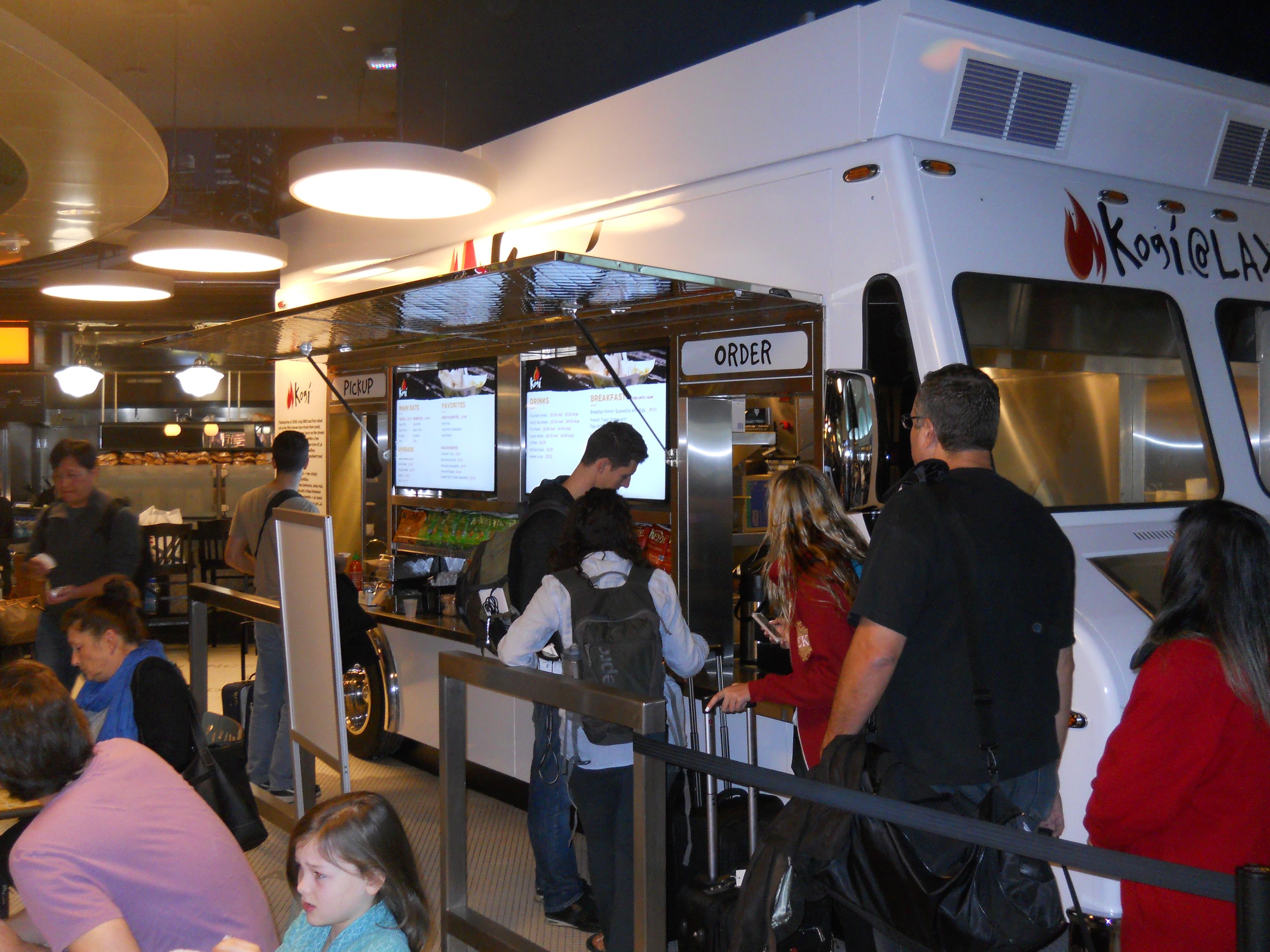 Kogi BBQ Opens at LAX with Digital Menu Boards