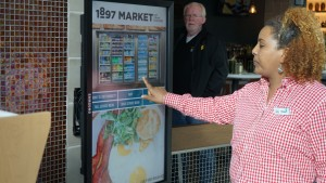 1897 Market Interactive Touch Screen