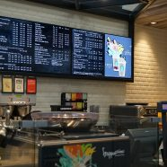 OSM Solutions provides digital menu boards for Starbucks IAH Terminal D