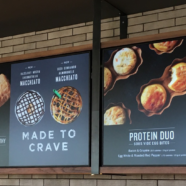 Starbucks DFW South Entrance Indoor & Drive-Thru Digital Menu Boards